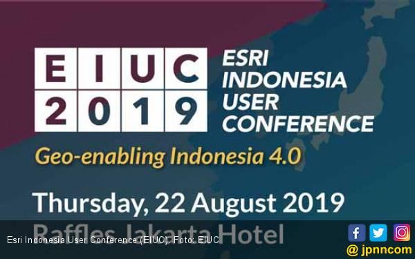 Rayakan 50 Tahun Informasi Geospasial Nasional, Esri Indonesia Gelar User Conference - JPNN.com