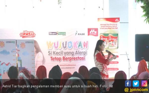 Astrid Tiar Hanya Berikan Susu Formula Khusus untuk Anabel - JPNN.com