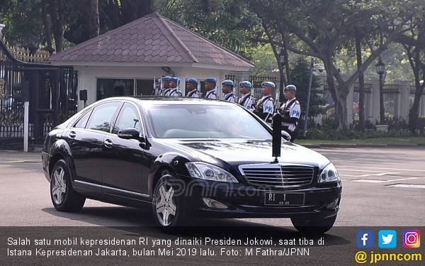 Istana Jelaskan Alasan Pembelian Mobil Baru untuk Jokowi - JPNN.com