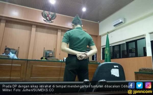 Prada DP Pemutilasi Pacar Dituntut Hukuman Penjara Seumur Hidup - JPNN.com