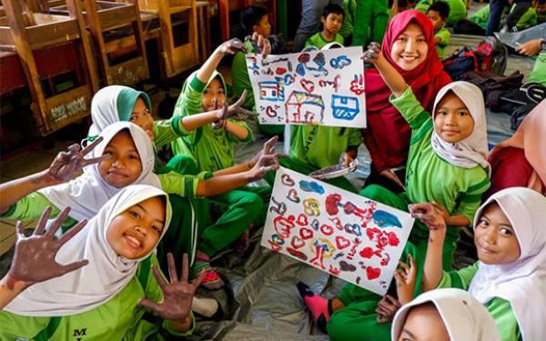 Lelah tapi Seru, Anak Hebat Anak Indonesia Sapa MIN 6 Tangerang - JPNN.com