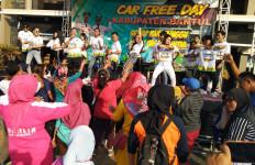 Flashmob di Yogyakarta Bikin Masyarakat Melek Olahraga dan Haornas - JPNN.com