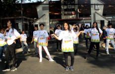 Flashmob Road To Haornas Hebohkan CFD Dago - JPNN.com
