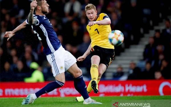 Pukul Skotlandia, Belgia Masih Sempurna di Kualifikasi Piala Eropa 2020 - JPNN.com