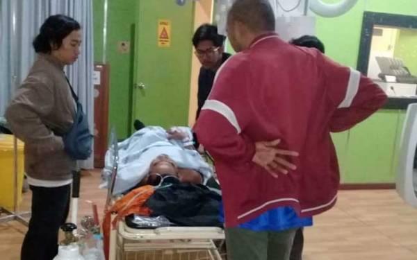 Pengendara Kritis Ditembak Begal Sadis di Jalan Mayjen Yusuf - JPNN.com