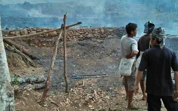 Puluhan Rumah Suku Badui Terbakar - JPNN.com