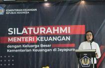 Menkeu Bersilaturahmi dengan Keluarga Besar Kemenkeu di Jayapura - JPNN.com