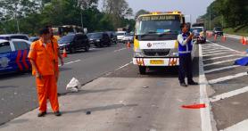 Kecelakaan di Tol Jagorawi, 3 Korban Tewas