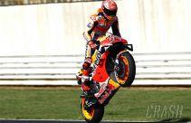 Salip Quartararo di Lap Terakhir, Marquez Menang di MotoGP San Marino - JPNN.com