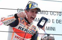 Marquez Menang di MotoGP San Marino, 4 Pembalap jadi Korban - JPNN.com