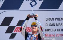 Moto2 San Marino: Fernandez Menangi Duel dengan Giannantonio, Dimas Ekky Masih Absen - JPNN.com