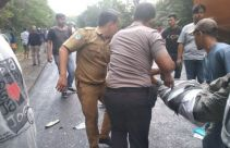 Detik-detik Kecelakaan Maut Bus Rosalia Indah vs Truk Tangki, Sungguh Ngeri - JPNN.com