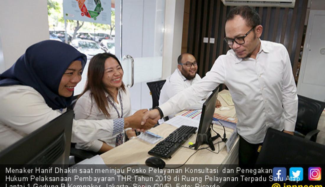 Posko Pelayanan Konsultasi dan Penegakan Hukum Pelaksanaan Pembayaran THR - JPNN.com