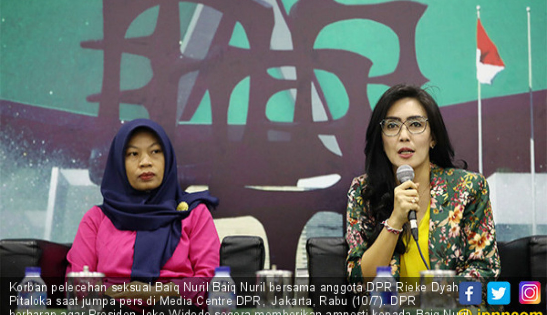 DPR Berharap Jokowi Berikan Amnesti untuk Baiq Nuril - JPNN.com