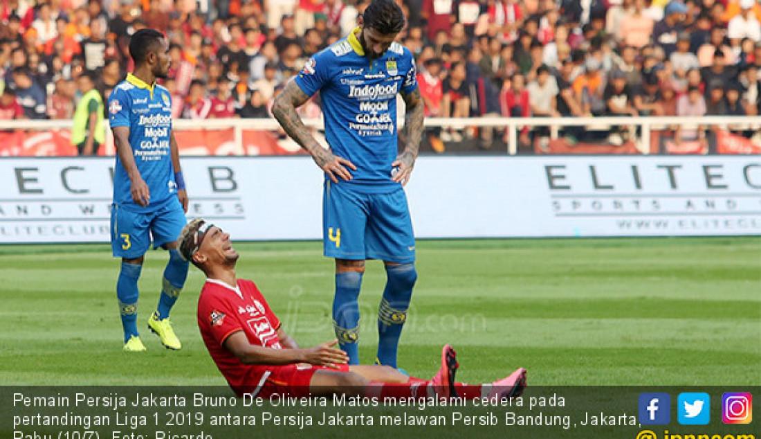 Duel Kontra Persib, Bruno Matos Cedera - JPNN.com