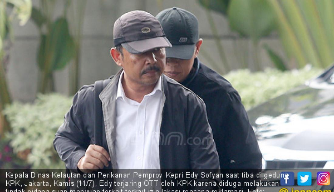 KPK Gelandang Kadis Kelautan dan Perikanan Kepri - JPNN.com