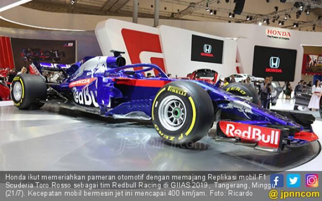 Honda Hadirkan F1 Scuderia Toro Rosso