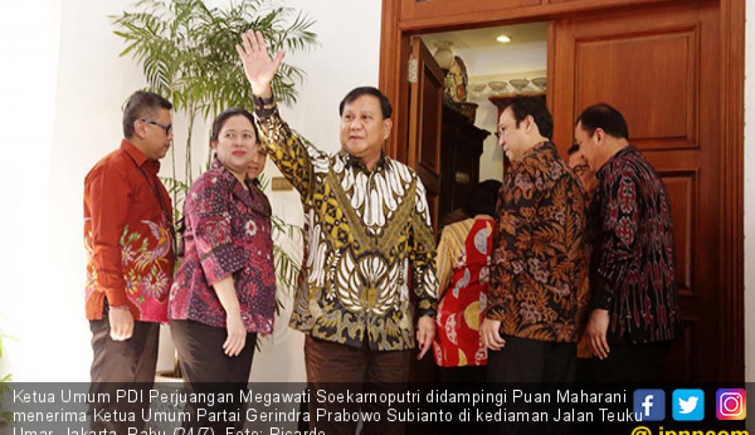 Prabowo dan Megawati Bertemu - JPNN.com