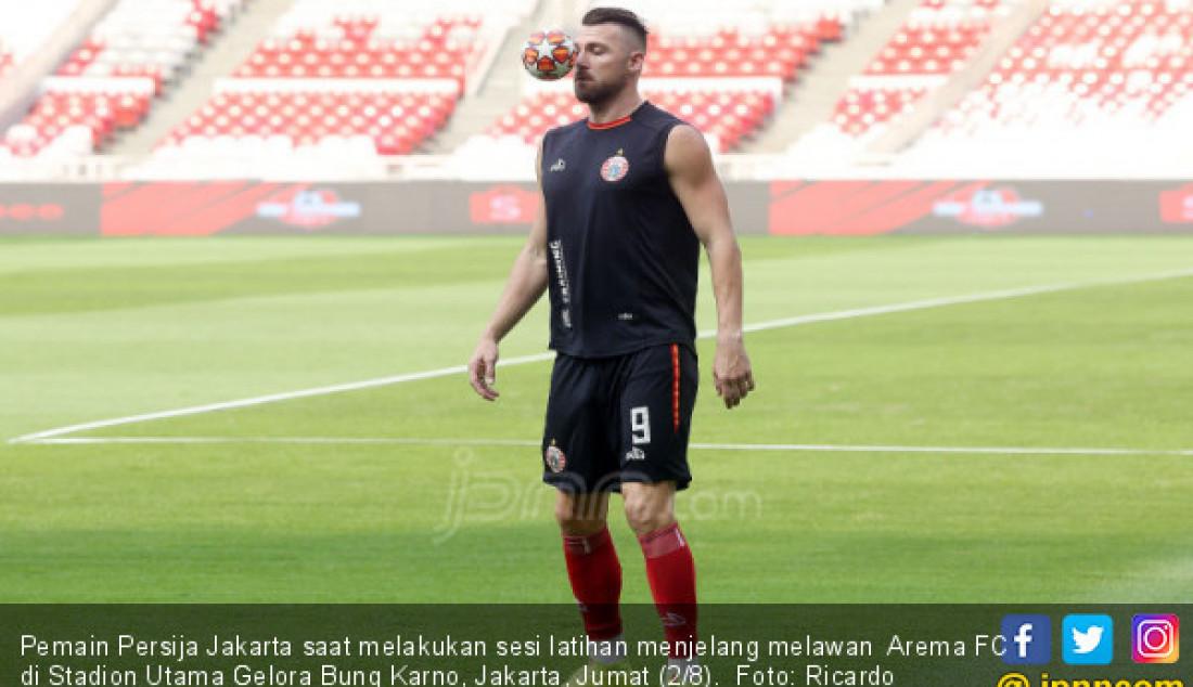 Jelang Kontra Arema FC, Persija Menggelar Latihan - JPNN.com