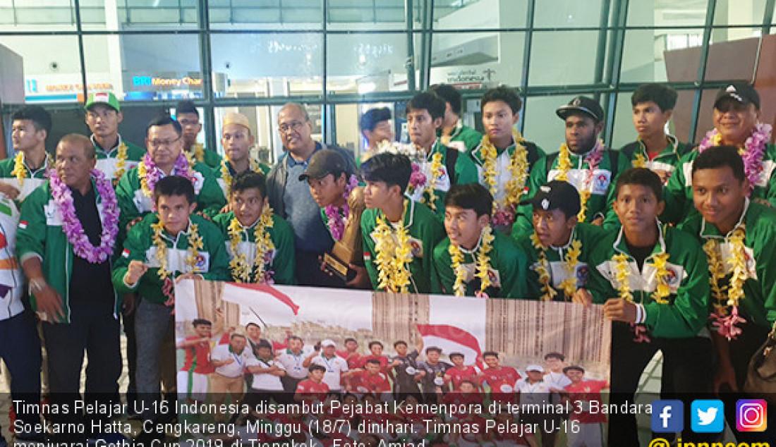 Kemenpora Sambut Juara Gothia Cup 2019 - JPNN.com