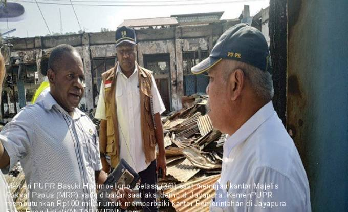 Pemulihan Jayapura, KemenPUPR Butuh Rp 100 Miliar