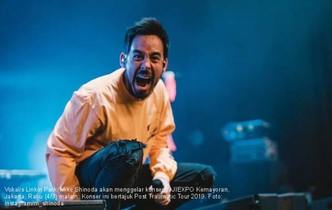 Mike Shinoda Goyang Jakarta Malam ini