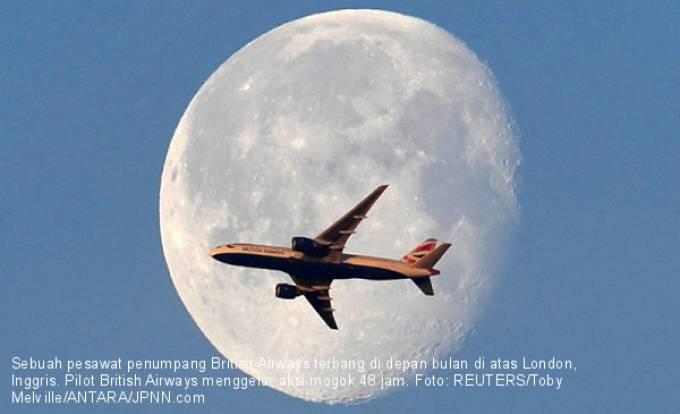 Pilot British Airways Gelar Aksi Mogok 48 Jam