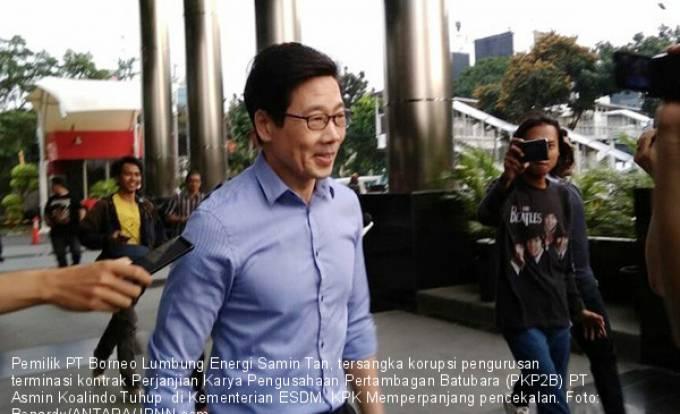 KPK Perpanjang Pencekalan Samin Tan