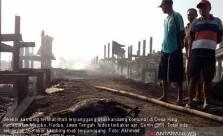 Kebakaran, 163 Ekor Kambing Terpanggang - JPNN.com