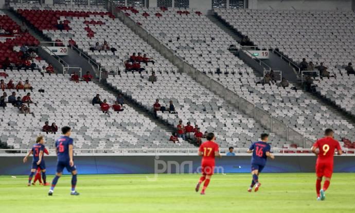 Laga Indonesia Melawan Thailand Sepi Penonton