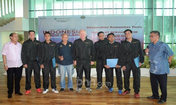 Djan Faridz Beri Dukungan Kepada Tim Davis Indonesia