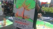 Aksi Seribu Tanda Tangan untuk Korban Asap di Riau - JPNN.com
