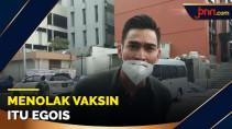Kata Robby Purba soal Vaksinasi: Bentuk Tanggung Jawab - JPNN.com