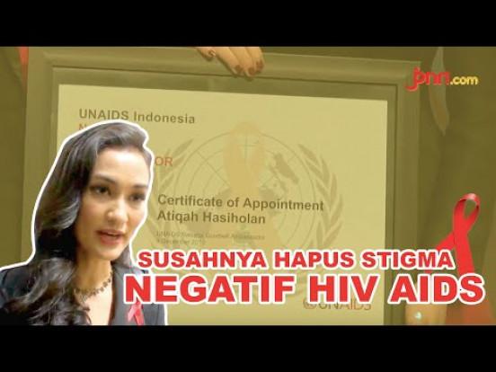 Atiqah Hasiholan Jadi Ambassador UNAIDS - JPNN.com