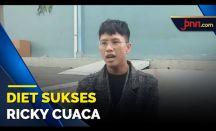 Tak Mau Dijuluki Jin Tomang, Ricky Cuaca Sukses Turunkan Berat Badan 60 Kg