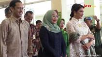 Istri Wapres Wury Estu Serahkan penghargaan Bunda PAUD Nasional - JPNN.com