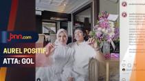 Aurel Hermansyah Positif Hamil, Atta Halilintar: Gol - JPNN.com