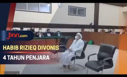 Divonis 4 Tahun Penjara, Habib Rizieq Langsung Banding
