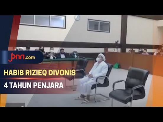 Divonis 4 Tahun Penjara, Habib Rizieq Langsung Banding - JPNN.com