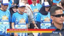 Jalan Santai, Ma'ruf Amin Gelorakan Kerukunan Antar Agama - JPNN.com