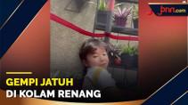 Gempi Hampir Jatuh di Kolam Renang, Gisel Berusaha Tenang - JPNN.com