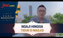 Stafsus Presiden Aminuddin Ma'ruf Mengaji sampai Tidur di Masjid saat Ramadan