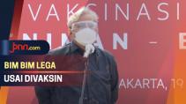 Divaksinasi, Bimbim Slank dan Slamet Rahardjo Merasa Lega - JPNN.com