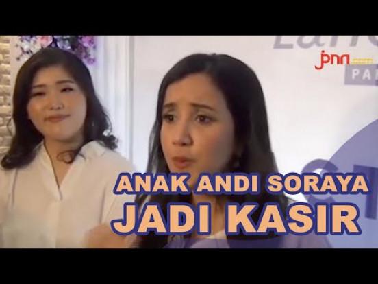 Andi Soraya Bangga Putranya Jadi Kasir Toko Sepatu - JPNN.com