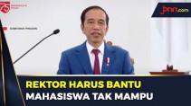 4 Pesan Jokowi Untuk Pendidikan Tinggi Indonesia - JPNN.com