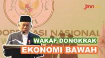 Ma'ruf Amin: Wakaf Bisa Bantu Tingkatkan Ekonomi Bawah - JPNN.com