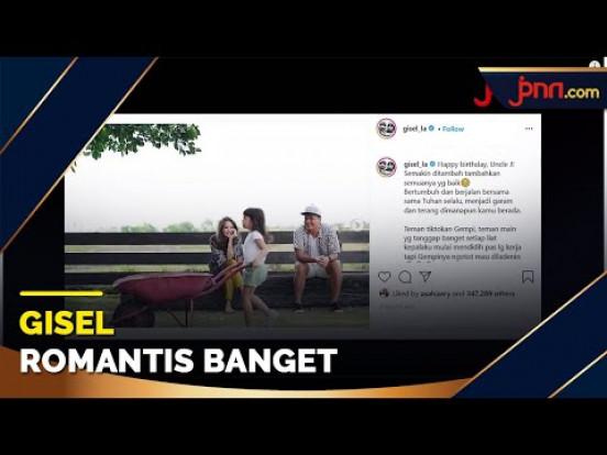 Ucapan Romantis Gisel saat Wijin Ultah, Jomlo Minggir Dulu - JPNN.com