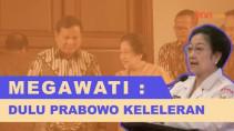 Megawati Ledek Prabowo Subianto Keleleran, Jokowi Terkekeh-kekeh - JPNN.com