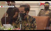 Presiden Jokowi: Urusan Vaksin Gratis, Urusan Menkes