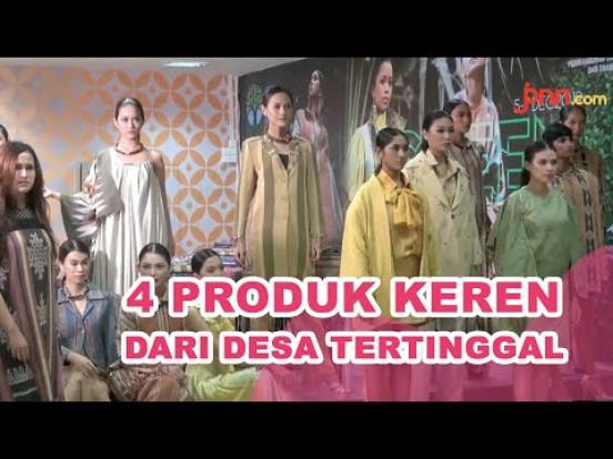 4 Desa Tertinggal Unjuk Gigi di Eco Fashion Week Indonesia - JPNN.com